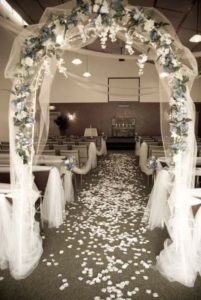 wedding rental space